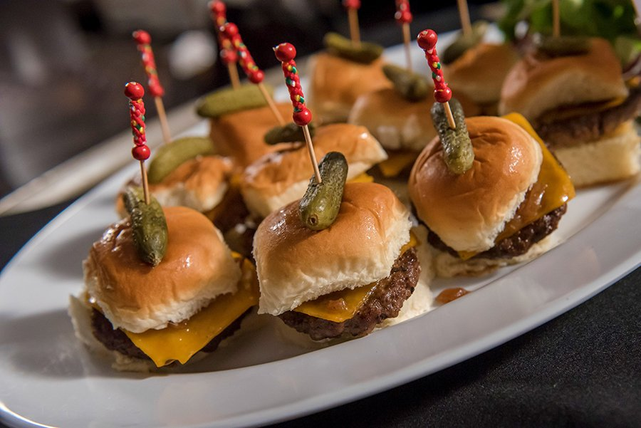 super bowl party catering | sliders