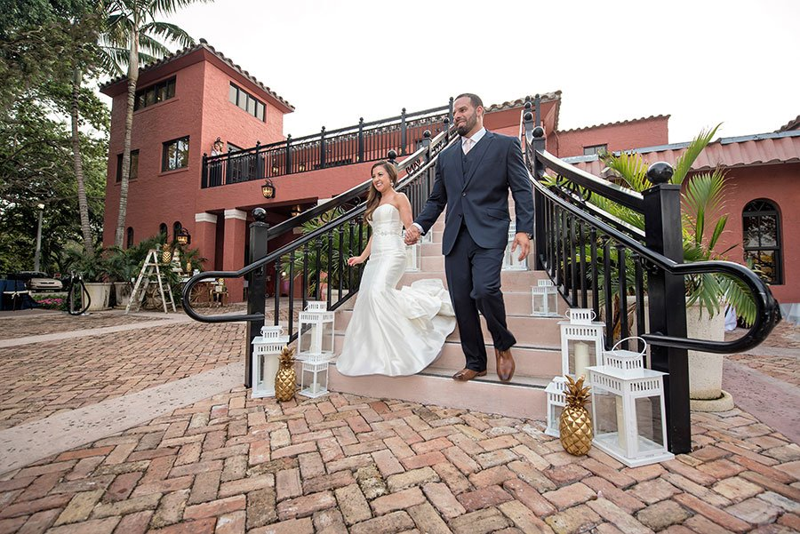 vintage wedding venues in miami | deering estate