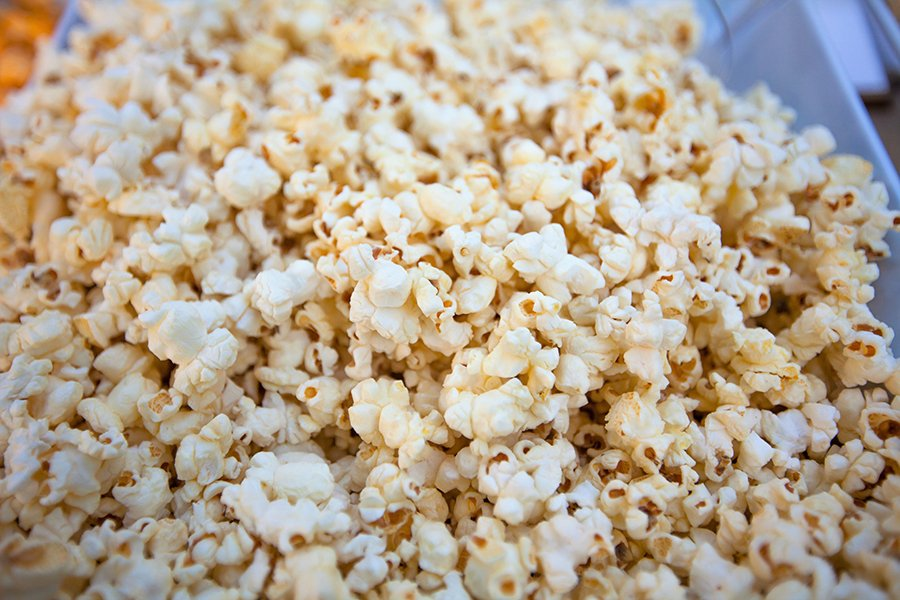 classic butter and salt popcorn