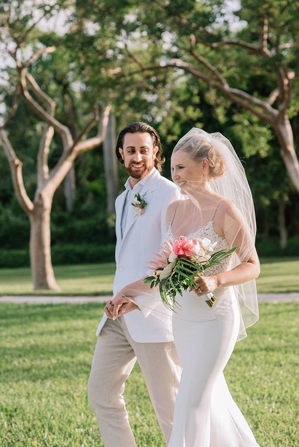 Miami wedding venue | Deering Estate | Anna and Mitch
