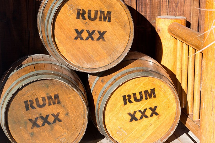 SOBE food and wine 2019 menu item | dark rum