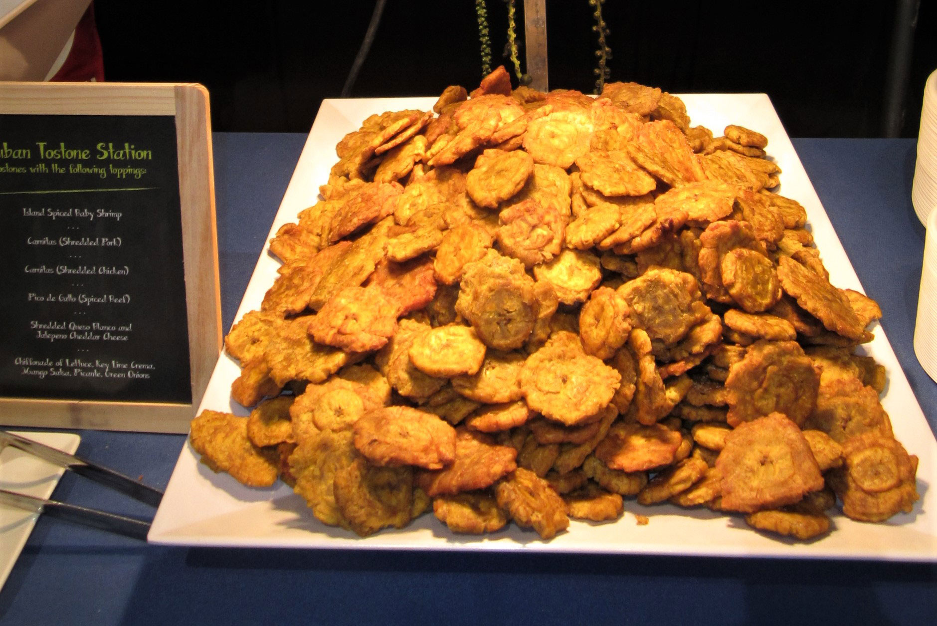 Tostones | Buffet Food Station | Eggwhites Catering