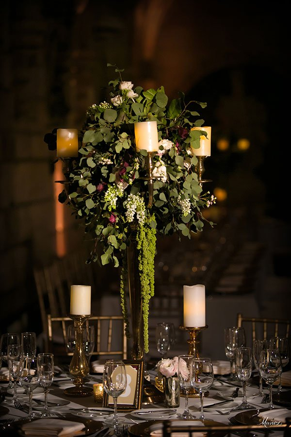glamorous wedding style | wedding venues in miami | spanish monastery