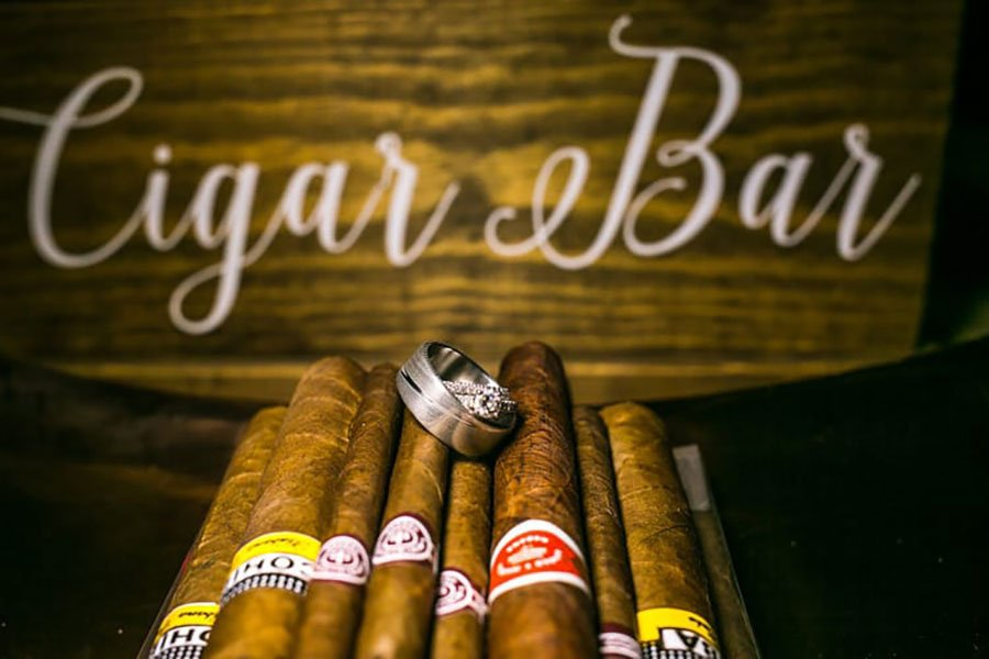 destination wedding favors | cigars