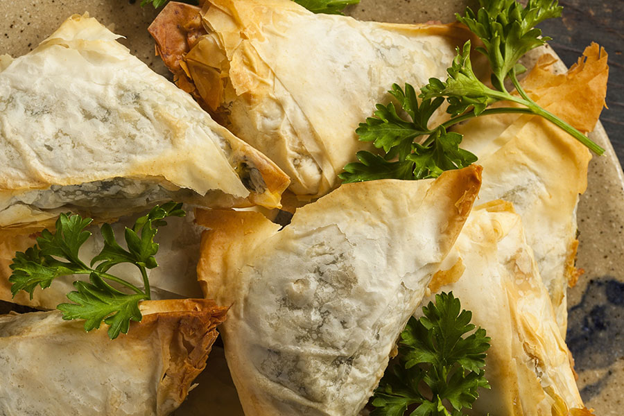 coral gables wedding catering | spanakopita