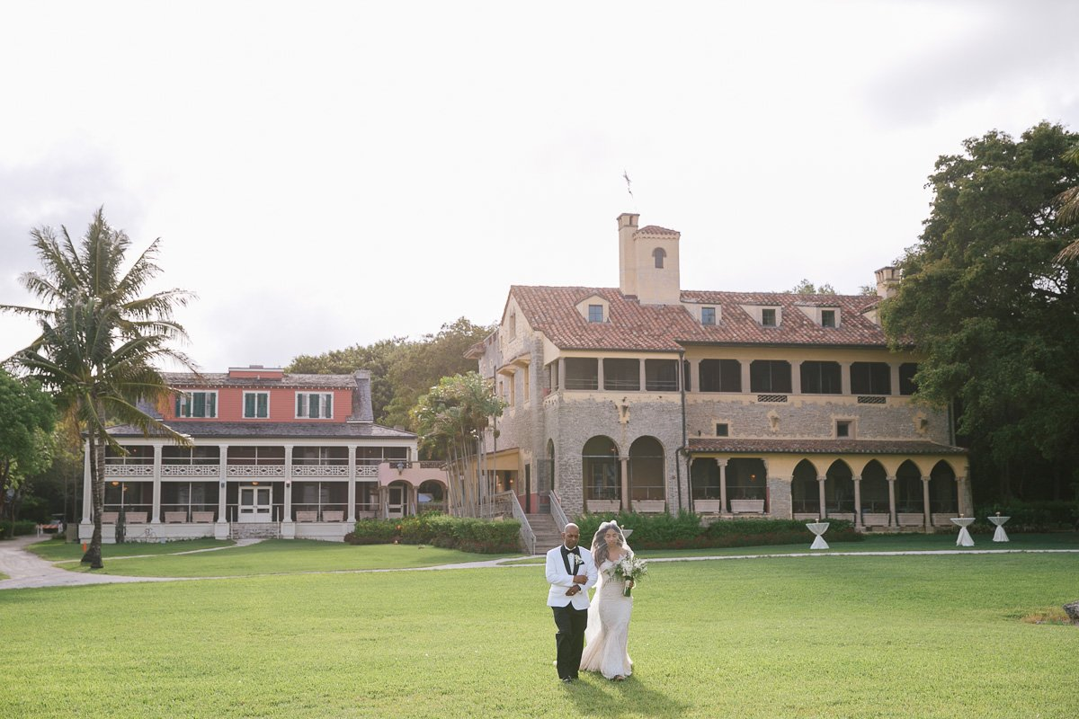 wedding venues miami | Deering Estate wedding reception