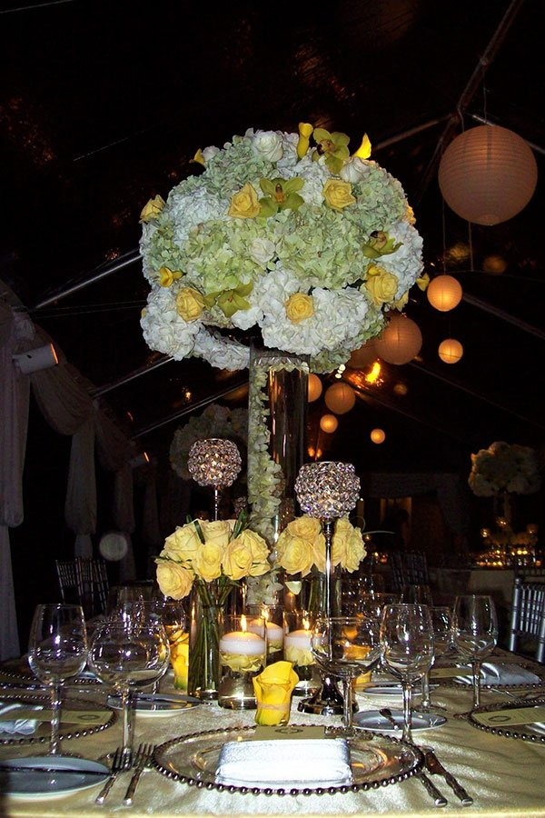 bonnet house wedding | yellow theme decor