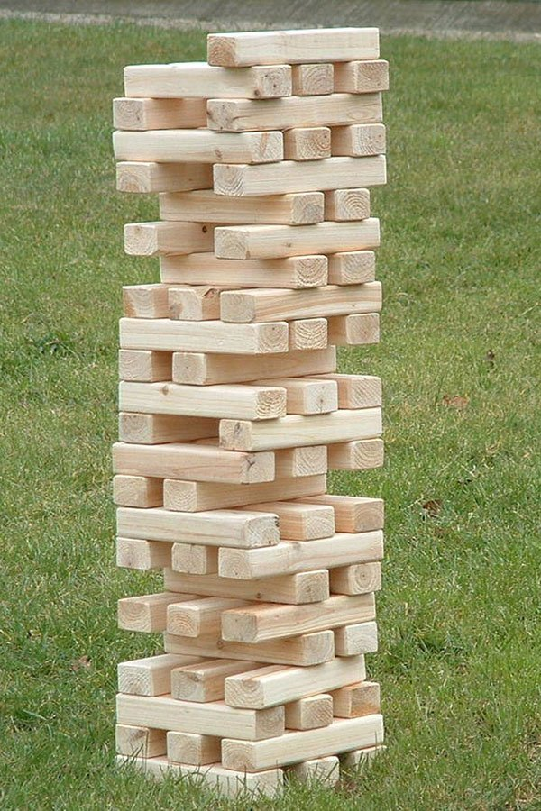 wedding shower ideas | jenga