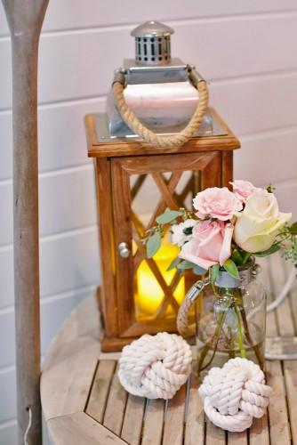 nautical theme wedding ideas | sailor knot decor