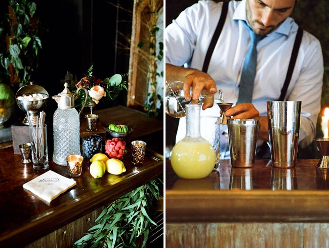 wedding shower ideas | mixology class