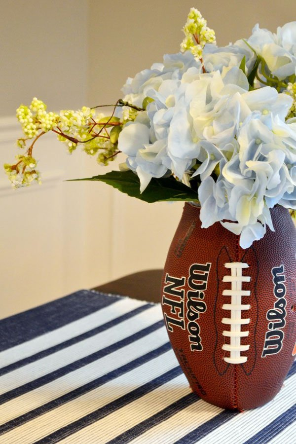 miami super bowl party catering | football floral decor