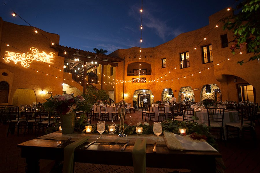 miami mansion rentals for weddings   curtiss mansion