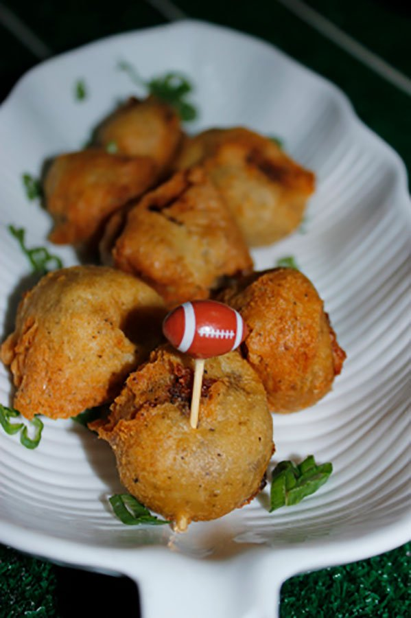 super bowl party catering | philly cheesesteak bites