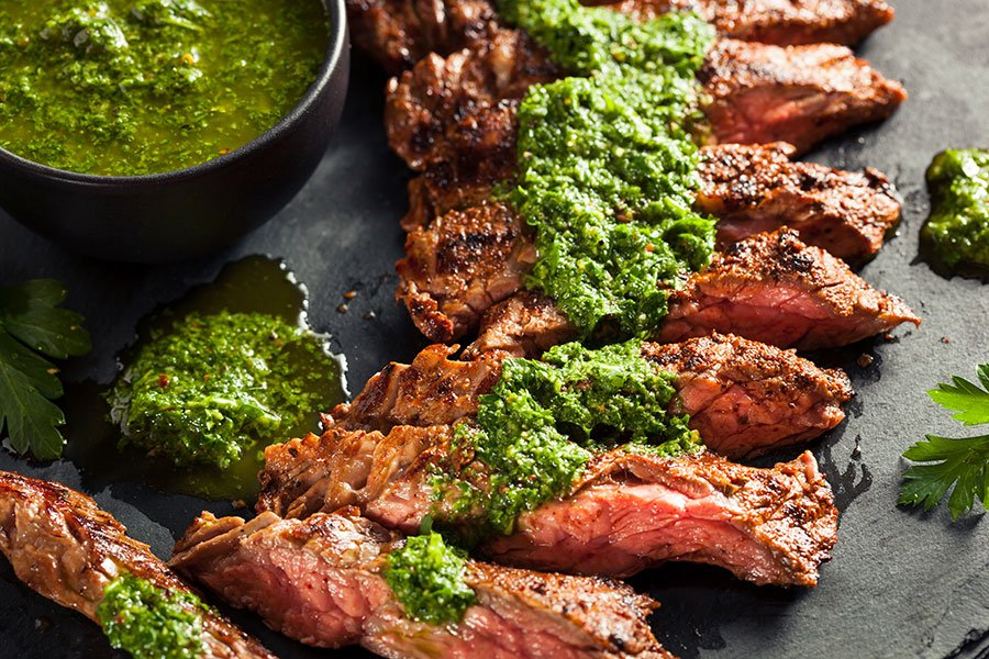 super bowl party catering | grilled steak