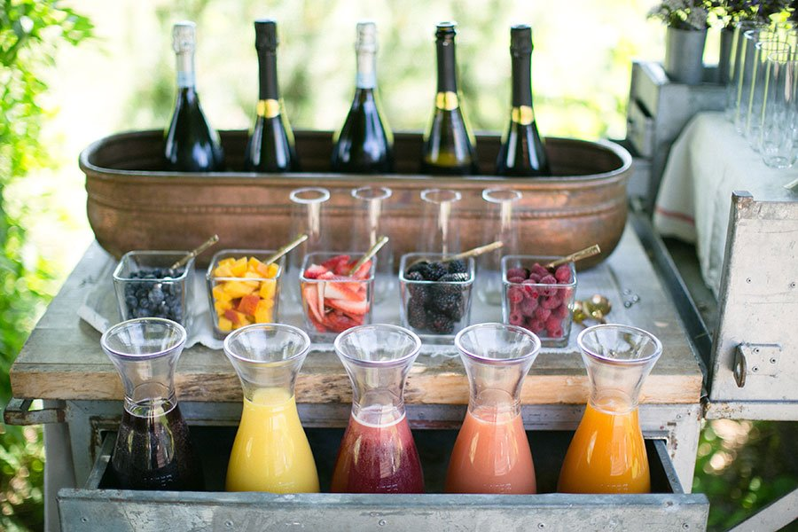 wedding trends 2020 | diy prosecco bar
