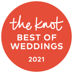 Eggwhites Catering award for The Knot Best of Weddings 2021