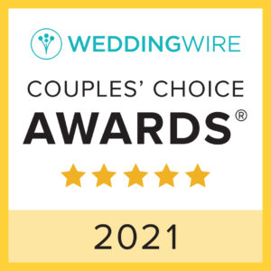 Eggwhites Catering award for WeddingWire Couples choice award